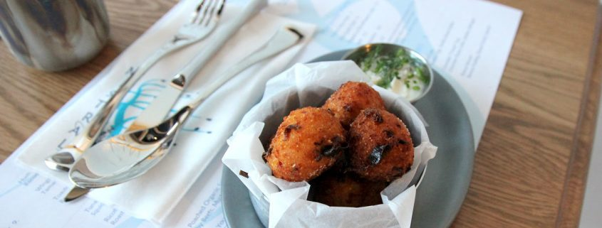 Mistral Restaurant King of Prussia Mall Hush Puppies