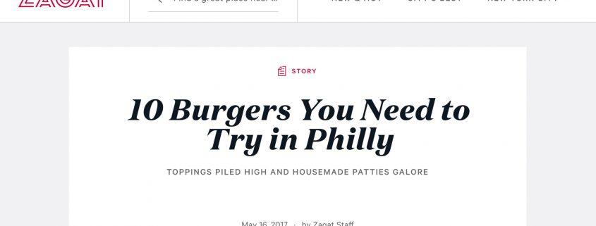 0 Burgers You Need to Try in Philly